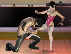 Бои без правил с созданными девушками играть